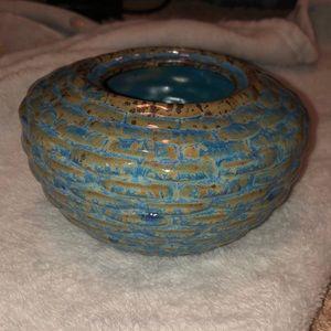 Boho Rustic Accent Vase/Pot!!